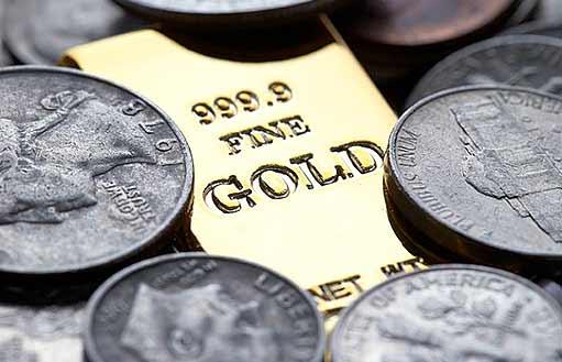 Соотношение золото/серебро медленно движется вверх
